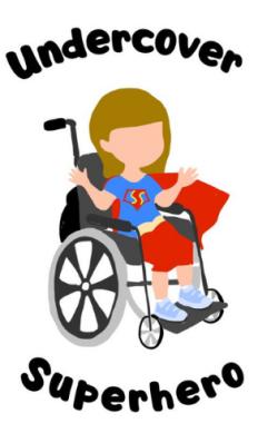 Undercover Superhero Blog Logo